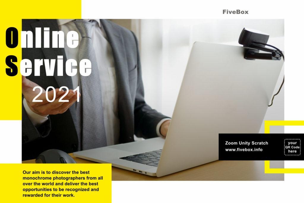通い放題プログラミング・パソコン教室「ファイブボックス」オンラインサービス、オンライン授業画像