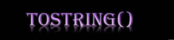 ToString()